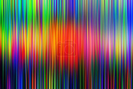 Photo pour Fond flou RVB de dommages à la télévision, mauvaise chaîne de télévision synchronisée, écran de télévision LCD RVB avec bruit statique de mauvaise réception du signal de diffusion comme fond de technologie analogique . - image libre de droit