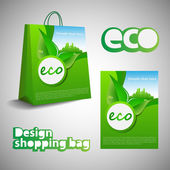 Eco Shopping Bag Design