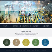 Website Design for Your Business with Street Walkway Header Image Background