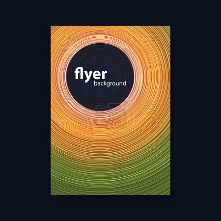 Colorful Modern Style Flyer, Folder, Brochure, Lea...
