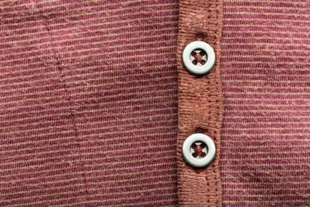 Brown jacket with buttons