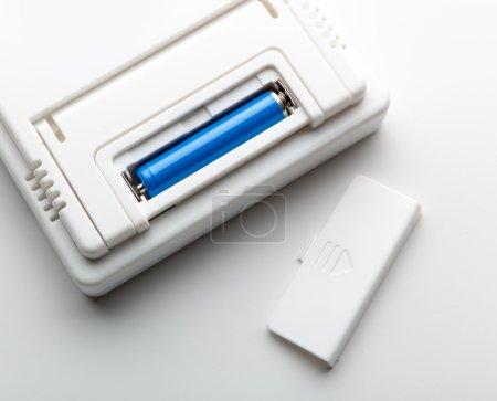 Battery in the socket