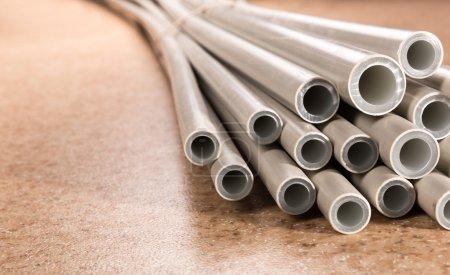 Plastic industrial tubes