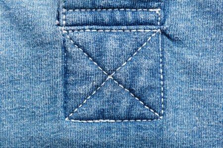 Jeans fabric seams