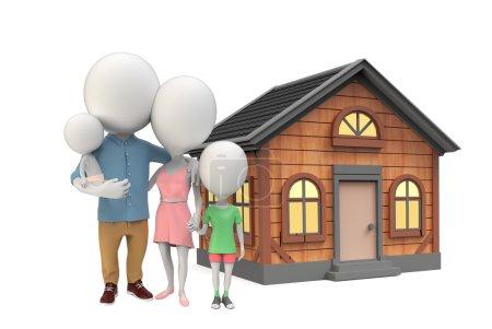 Family  nearthe house