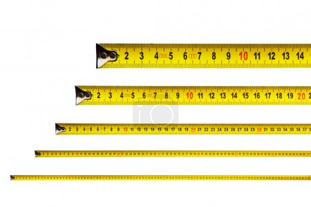 Measure tapes in centimeters