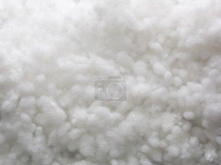 Foto de Closeup de textura blanco sintético anticongelante - Imagen libre de derechos