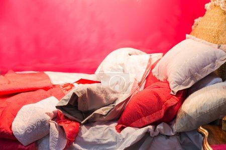 Luxury sleeping bed