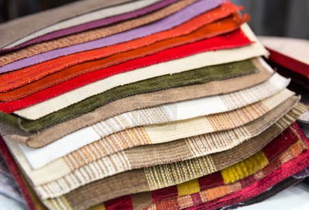 Various  Examples of fabric