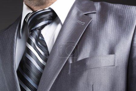 businessman in modern suit