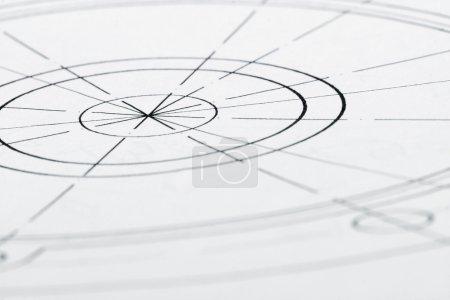 Architekturentwurfszeichnung
