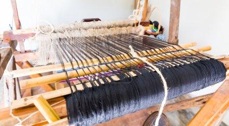 Old shuttleless loom