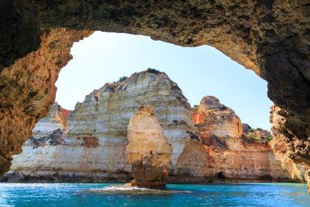 rocky bay in Portugal