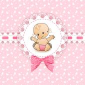Baby background with frame
