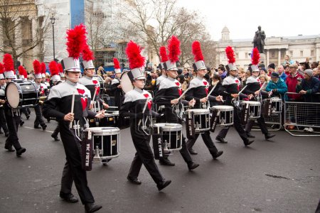 New years day parade, london, 2015