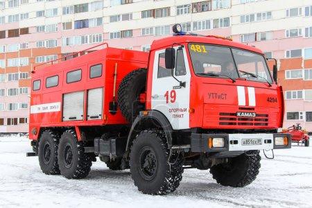 Пожарная Машина КамАЗ 43114