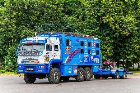 Спортивный грузовик КамАЗ 635050