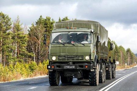 КАМАЗ 5350 Мустанг