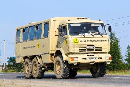 Внедорожный автобус КАМАЗ 43114