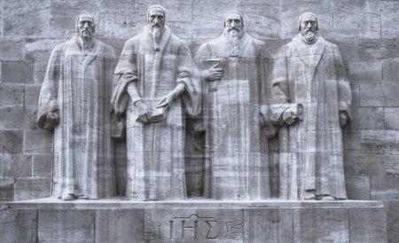 Reformers wall, Geneva, Switzerland, HDR