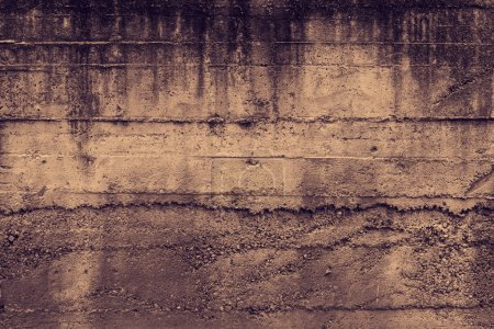 Photo for Dark grey concrete wall background - Royalty Free Image