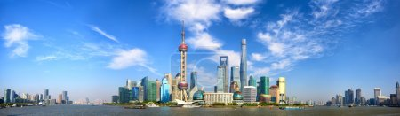Photo for Shanghai Pudong skyline panorama, China - Royalty Free Image