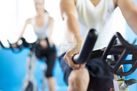 Photo for People working out in modern gym - Royalty Free Image