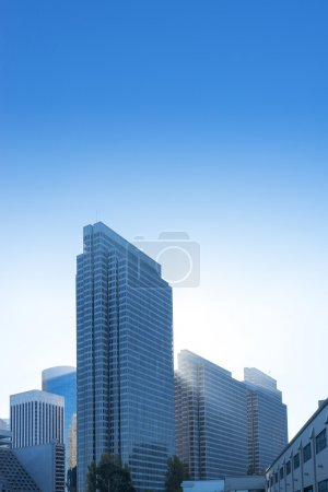 Photo for Modern office buildings in blue sky - Royalty Free Image