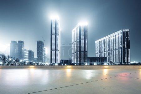 Modern office buildings in Hangzhou west lake squa...