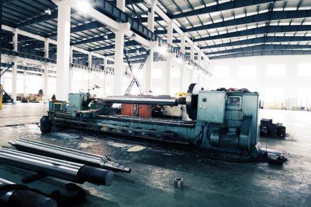 Photo pour Intérieur moderne mécanisme usine - image libre de droit