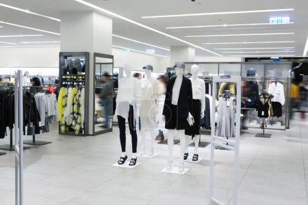 Modern fashion shop