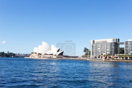 Sydney opera house and sea