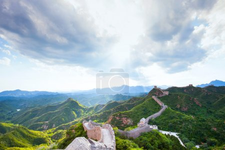 Great Wall the landmark of China