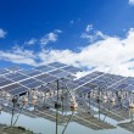 Solar panels outdoors...