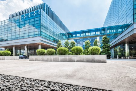 Photo for Panoramic skyline and modern buildings - Royalty Free Image