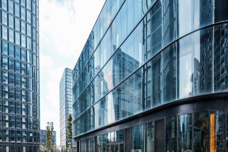Photo pour Gratte-ciel dans la ville moderne - image libre de droit