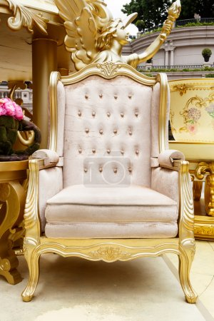 Photo for Luxury chair and furniture - Royalty Free Image