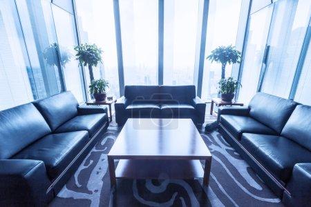 salle de repos dans un immeuble de bureaux moderne