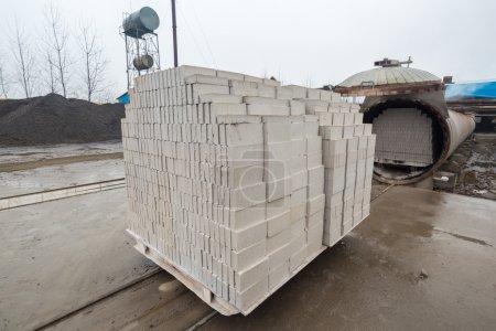 Aerated concrete block