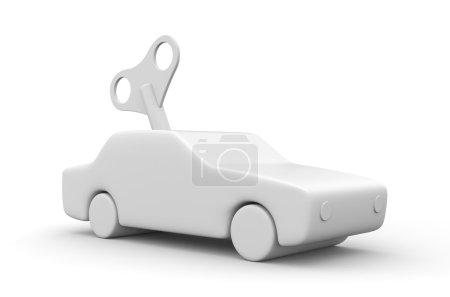 Clockwork car concept
