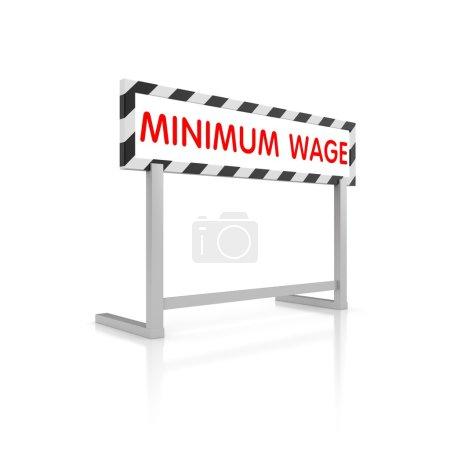 Minimum wage Barrier