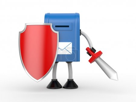 Photo for Your mailbox under protection and ready to battle - Royalty Free Image