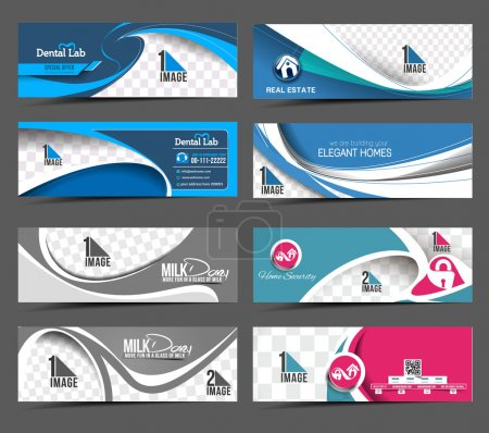 Modern Abstract Business Banner