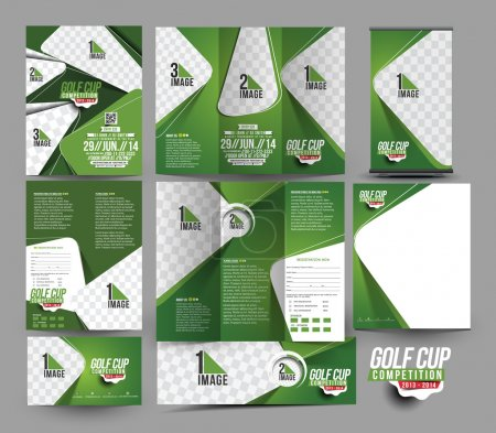 Golf Club Stationery