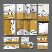 Auto Center Business Stationery