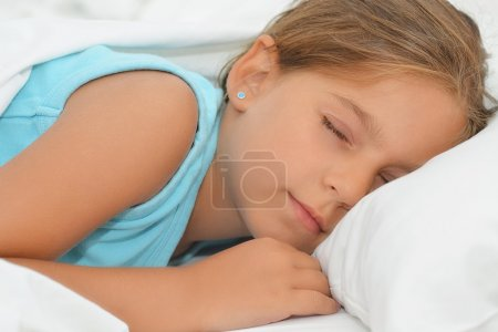 Sweet dreams, adorable girl sleeping