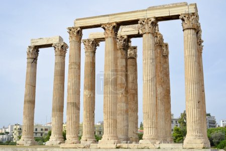 Photo for Ancient temple of Zeus, Athens, Greece - Royalty Free Image