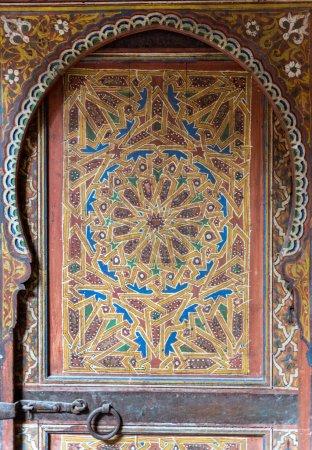 Magnificent ancient Moorish door