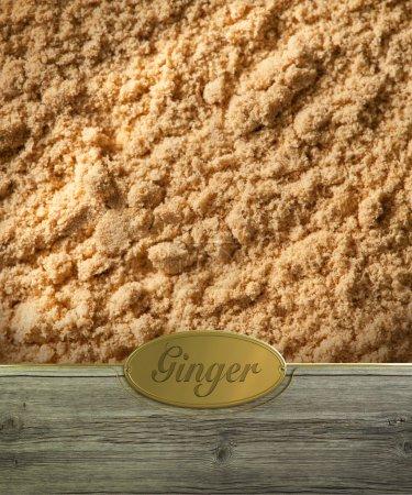Ginger labeled