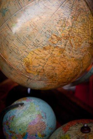 vintage desktop globe collection